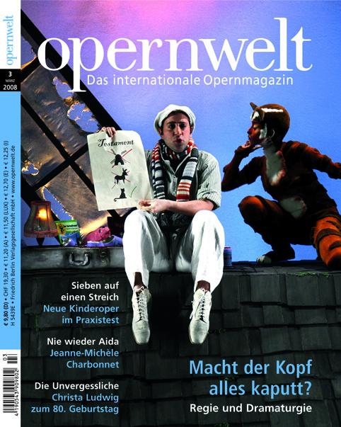 Opernwelt März (3/2008)