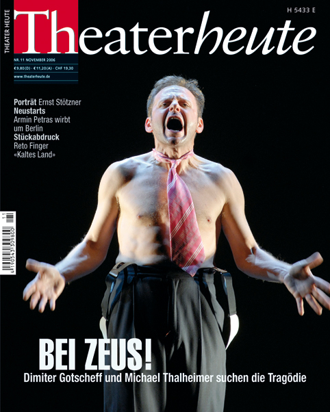 Theater heute November (11/2006)