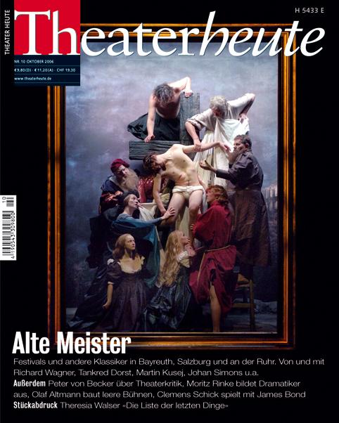 Theater heute Oktober (10/2006)