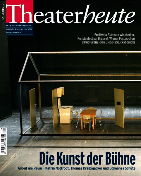 Theater heute August/September (8/9/2006)