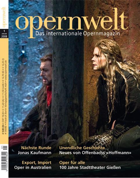 Opernwelt Januar (1/2008)