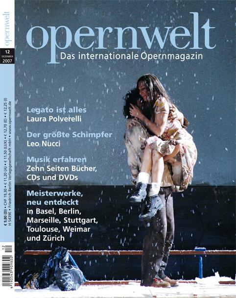 Opernwelt Dezember (12/2007)