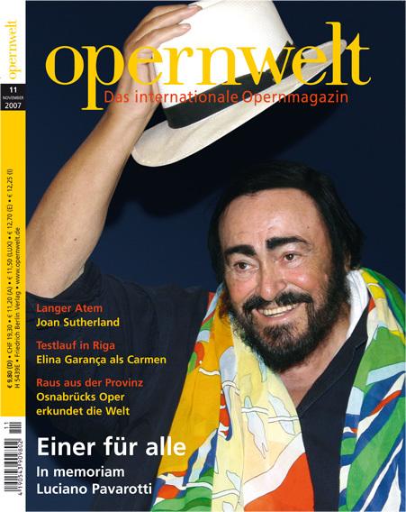 Opernwelt November (11/2007)