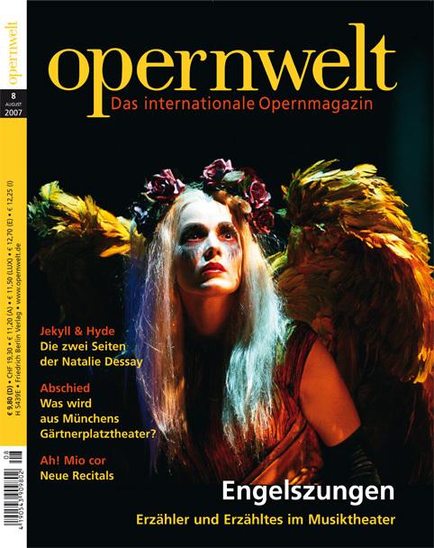 Opernwelt August (8/2007)