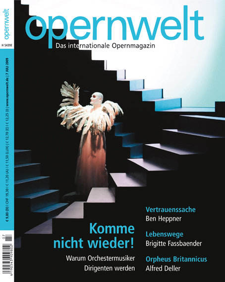 Opernwelt Juli (7/2009)