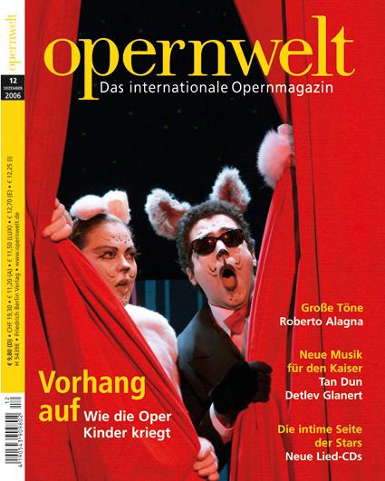 Opernwelt Dezember (12/2006)