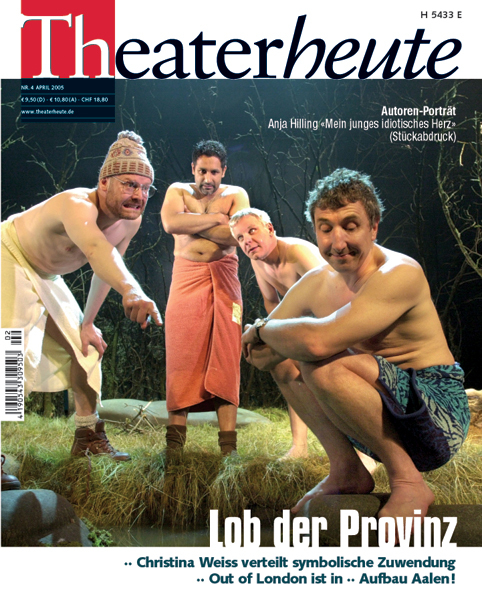 Theater heute April (4/2005)