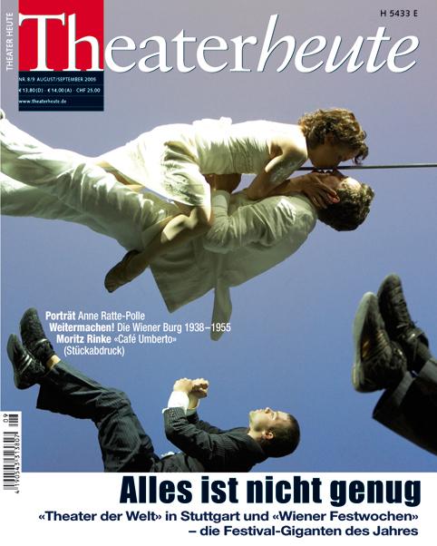 Theater heute August/September (8/9/2005)