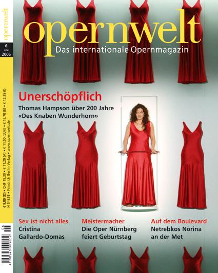 Opernwelt Juni (6/2006)