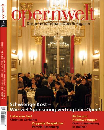 Opernwelt Januar (1/2006)