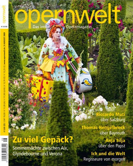 Opernwelt August (8/2009)