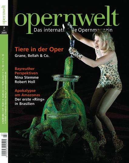 Opernwelt Juli (7/2005)