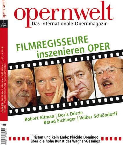 Opernwelt März (3/2005)