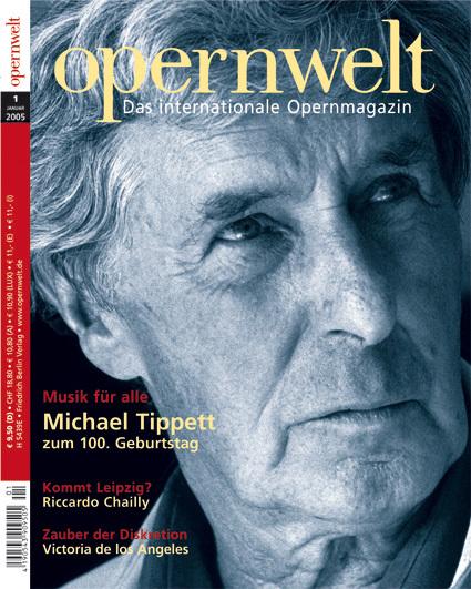 Opernwelt Januar (1/2005)