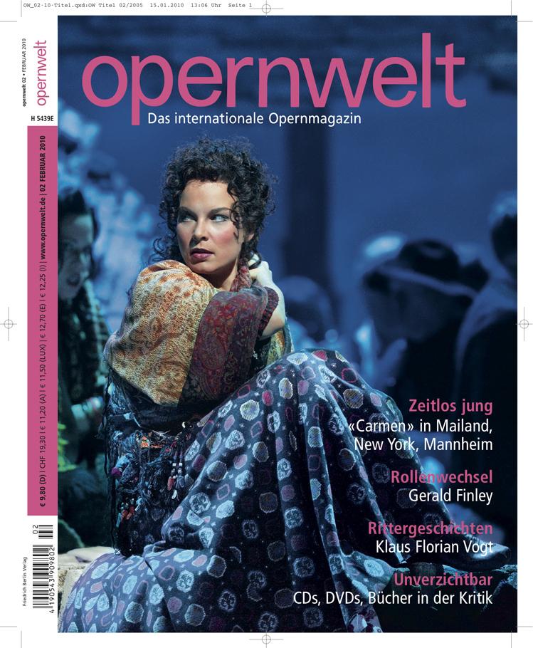 Opernwelt Februar (2/2010)