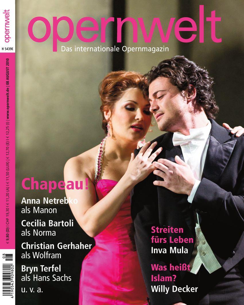 Opernwelt August (8/2010)