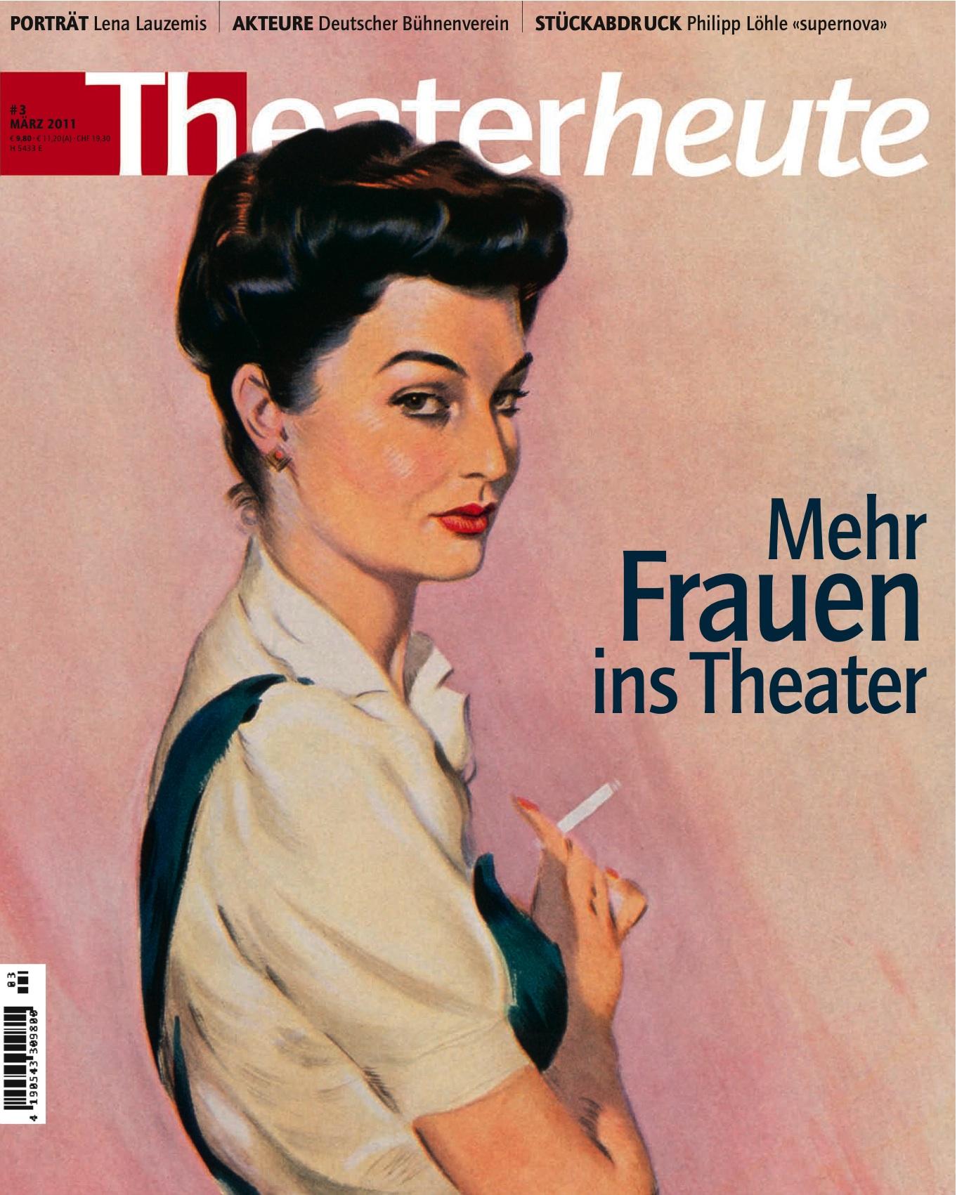 Theater heute März (3/2011)