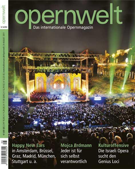Opernwelt August (8/2011)