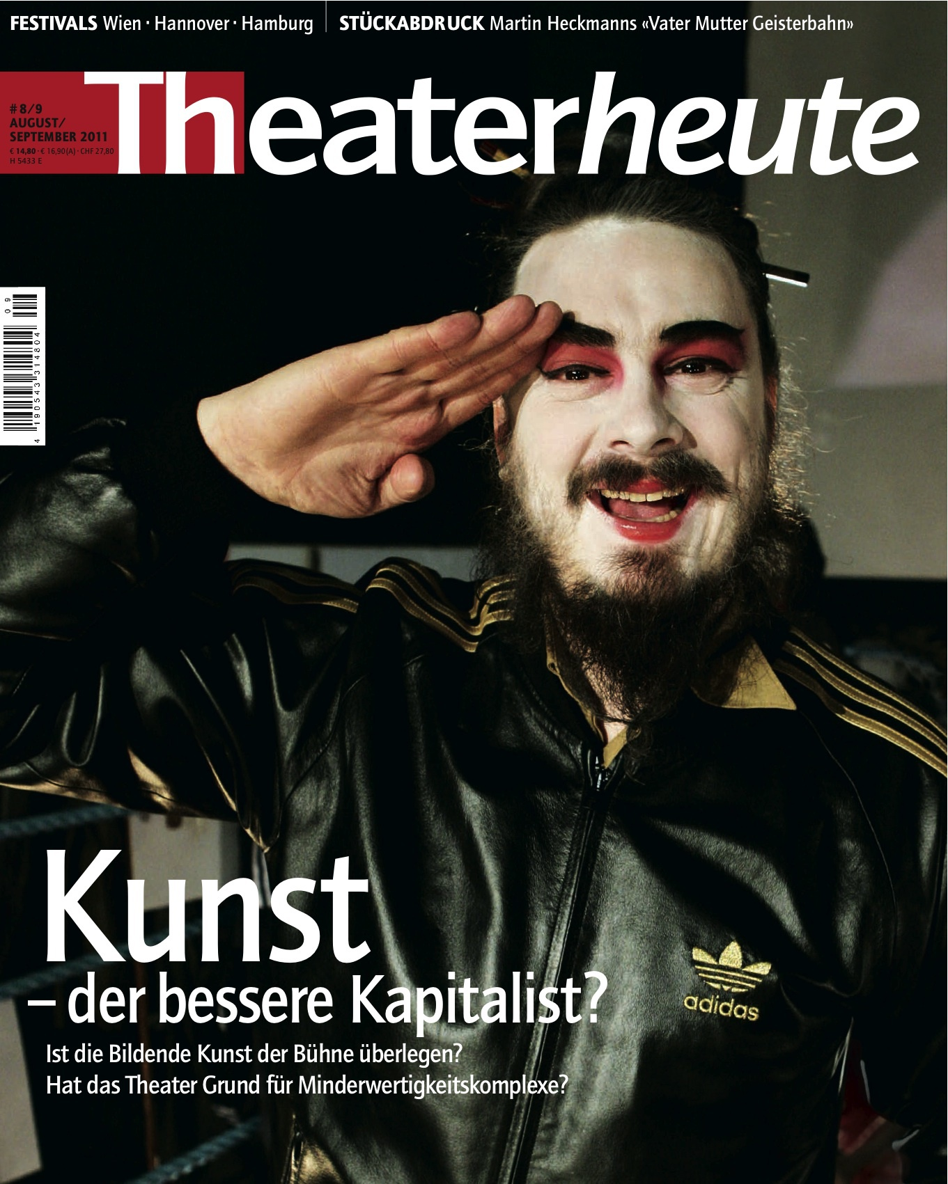 Theater heute August/September (8/9/2011)