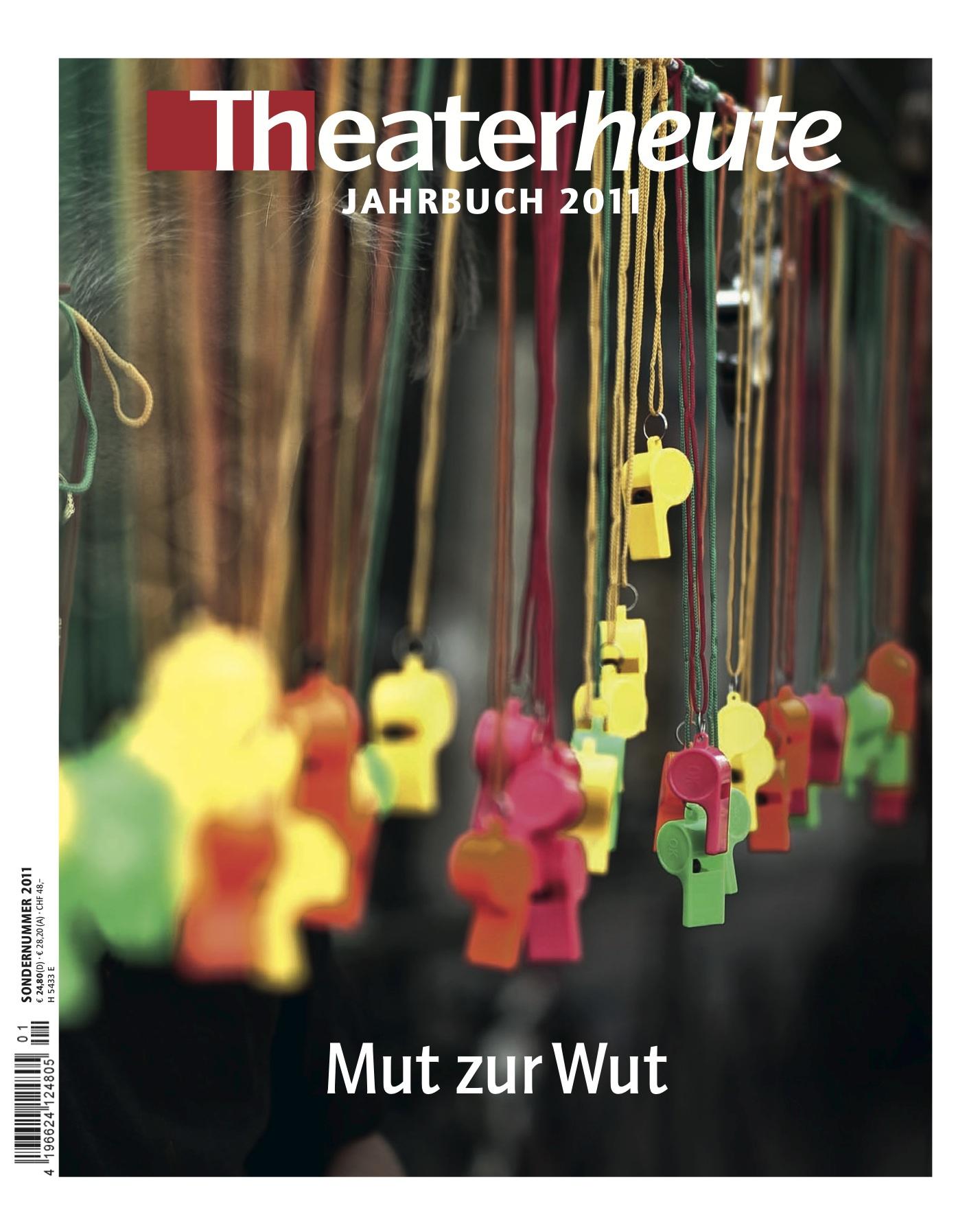 Theater heute Jahrbuch (13/2011)
