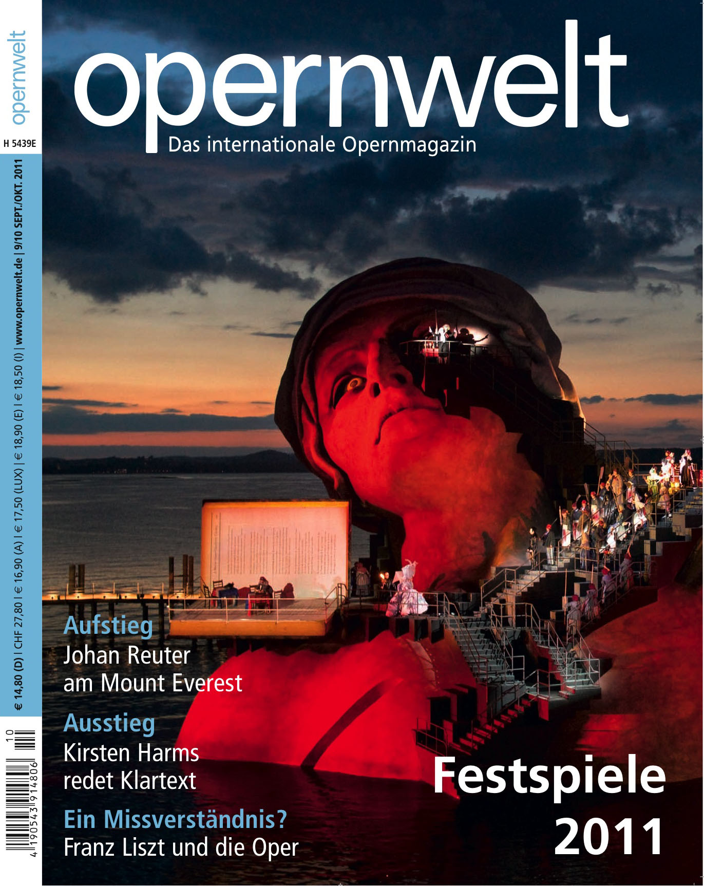 Opernwelt September/Oktober (9/10/2011)
