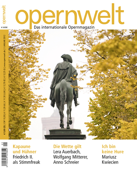 Opernwelt Januar (1/2012)