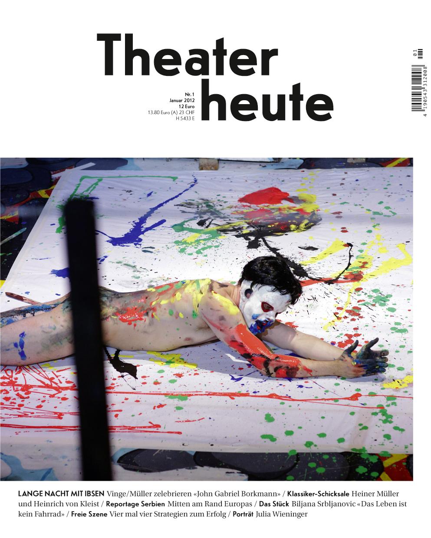 Theater heute Januar (1/2012)