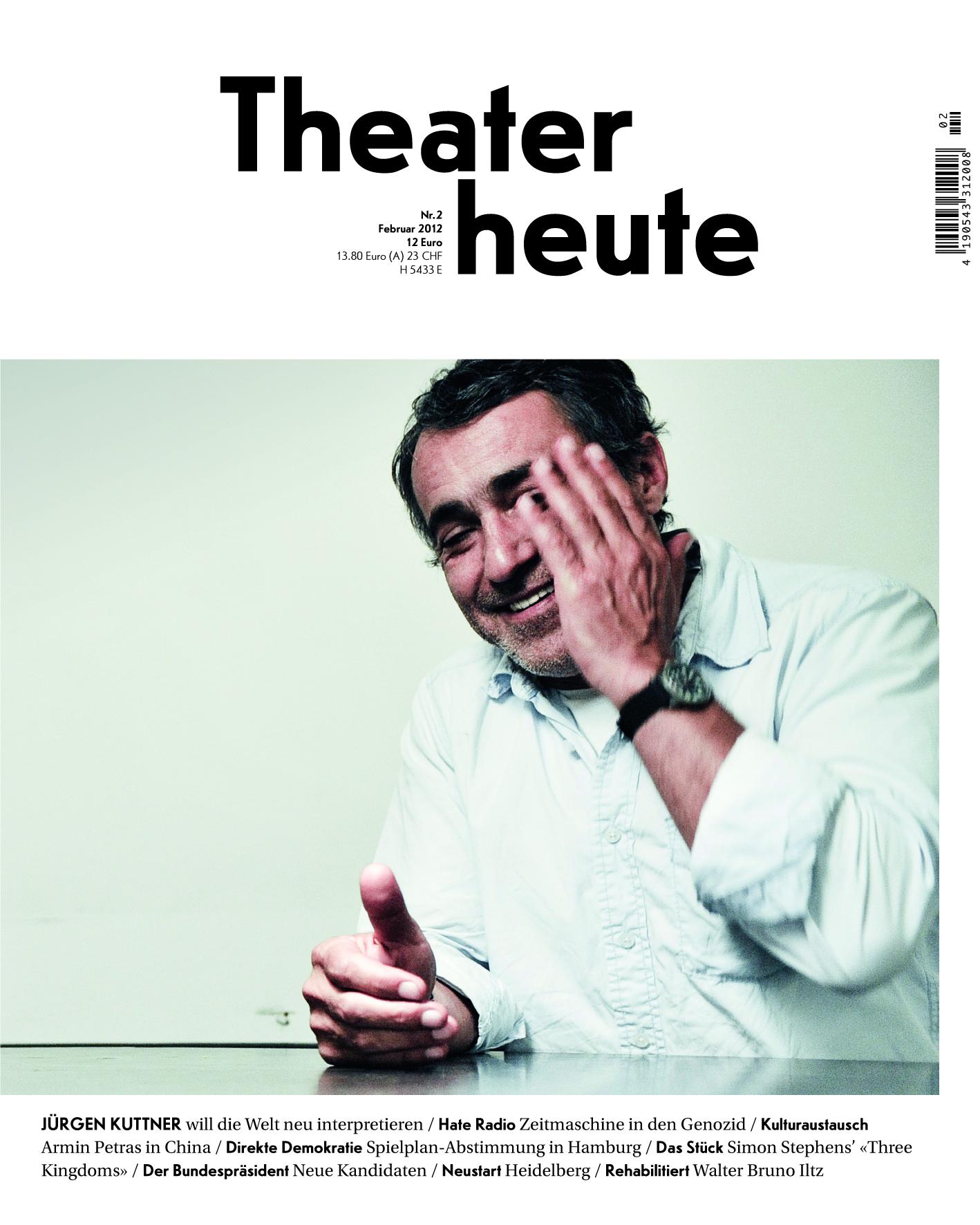 Theater heute Februar (2/2012)