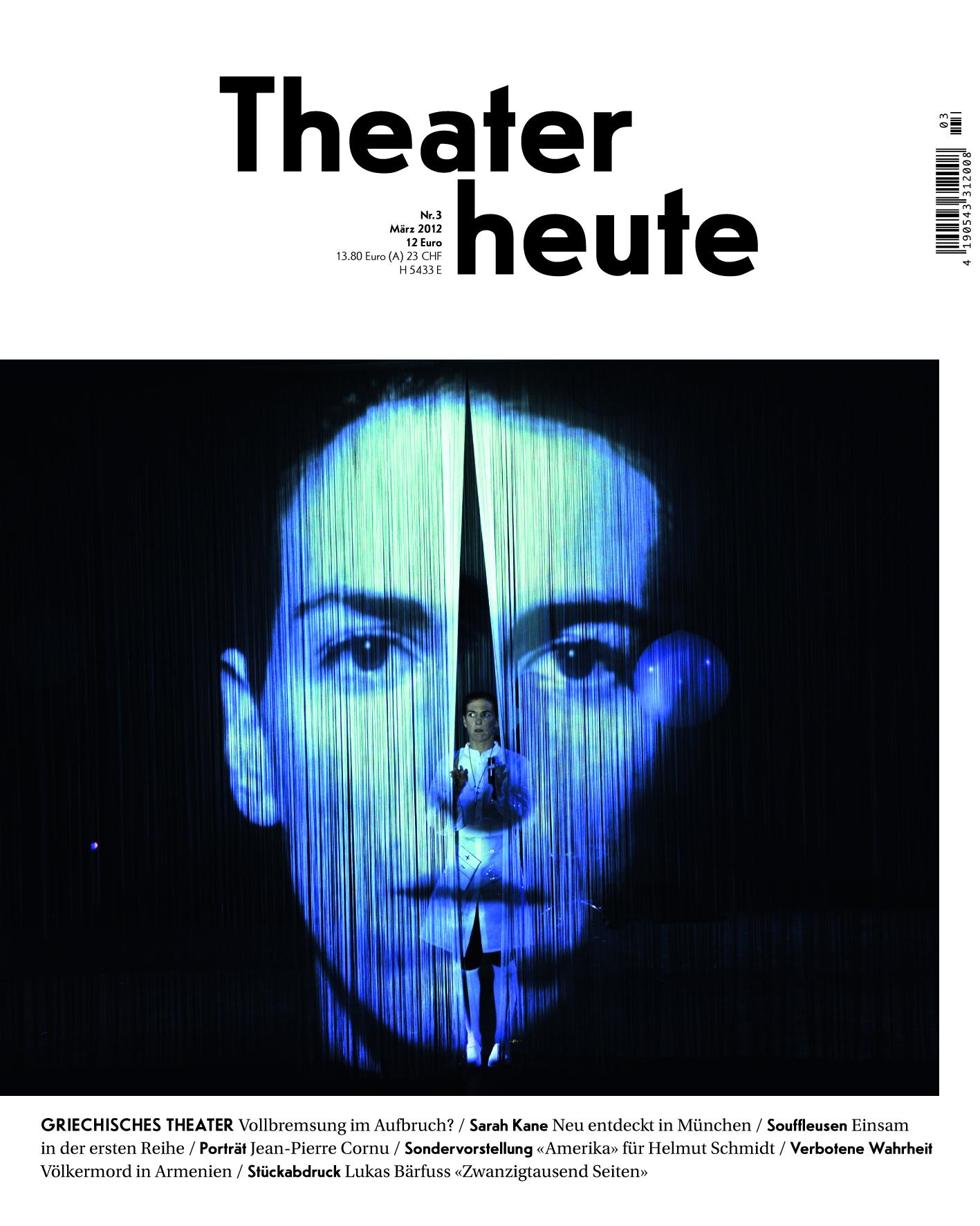 Theater heute März (3/2012)