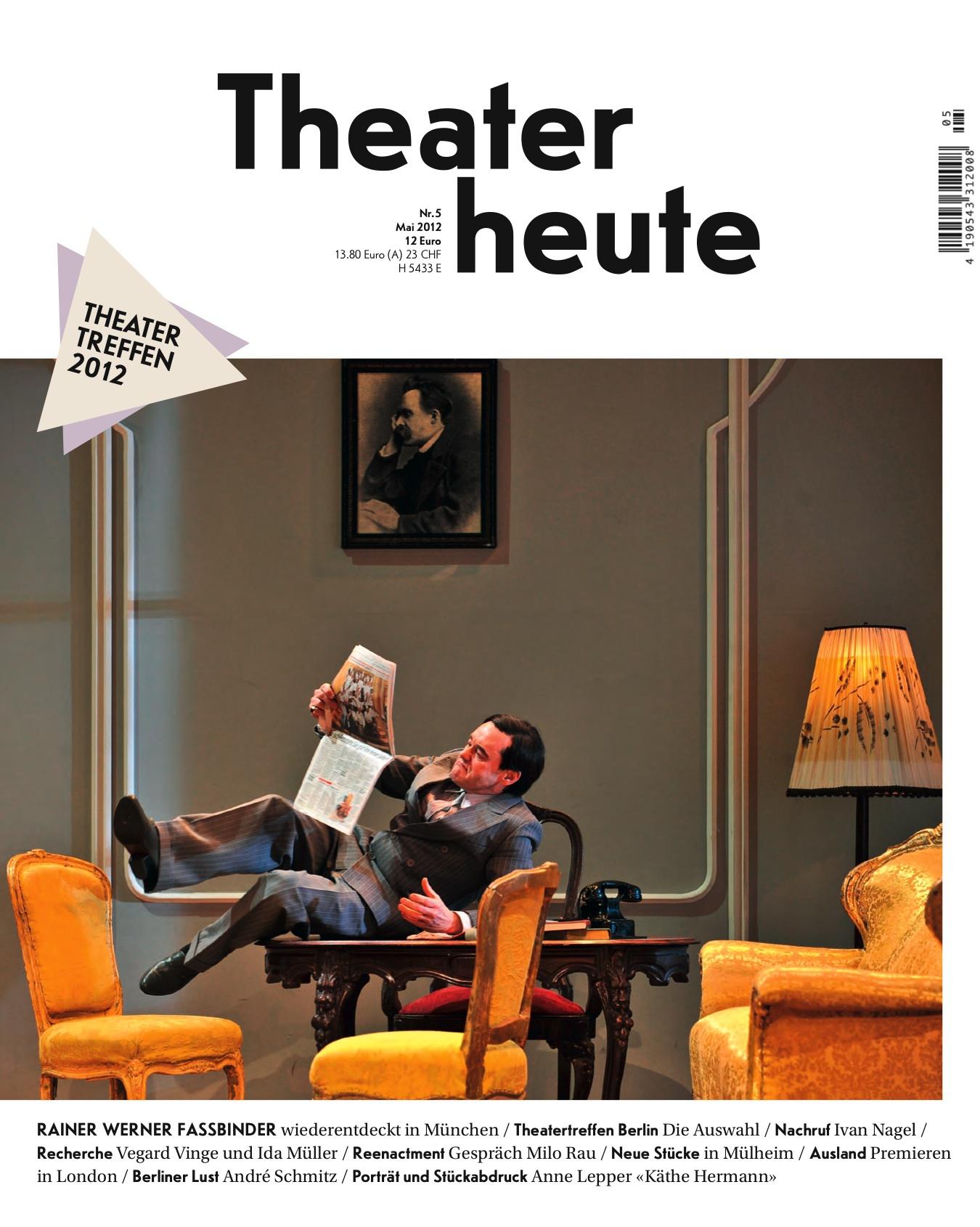 Theater heute Mai (5/2012)