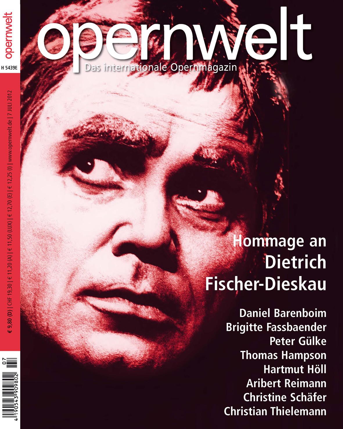 Opernwelt Juli (7/2012)