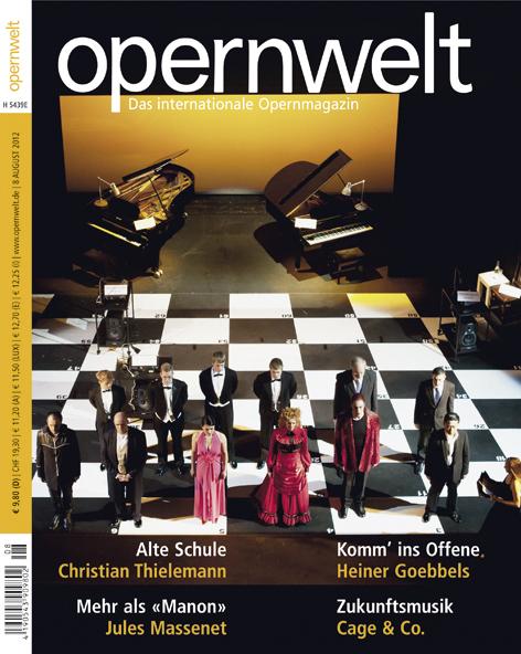 Opernwelt August (8/2012)