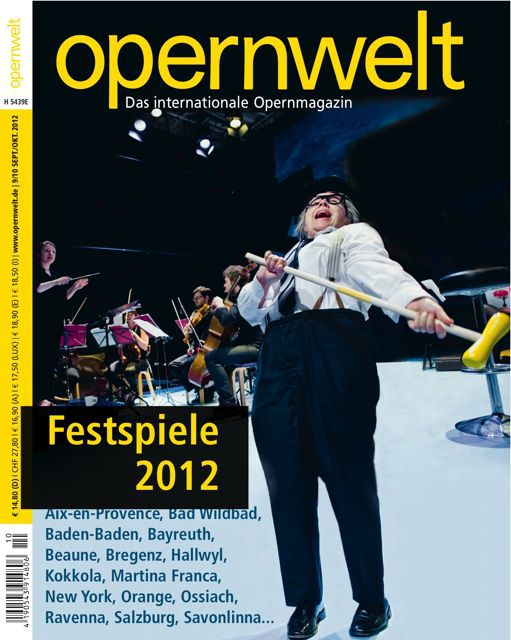 Opernwelt September/Oktober (9/10/2012)