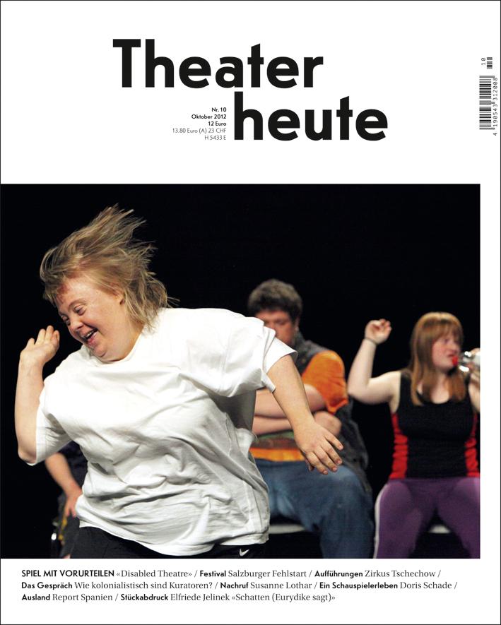 Theater heute Oktober (10/2012)