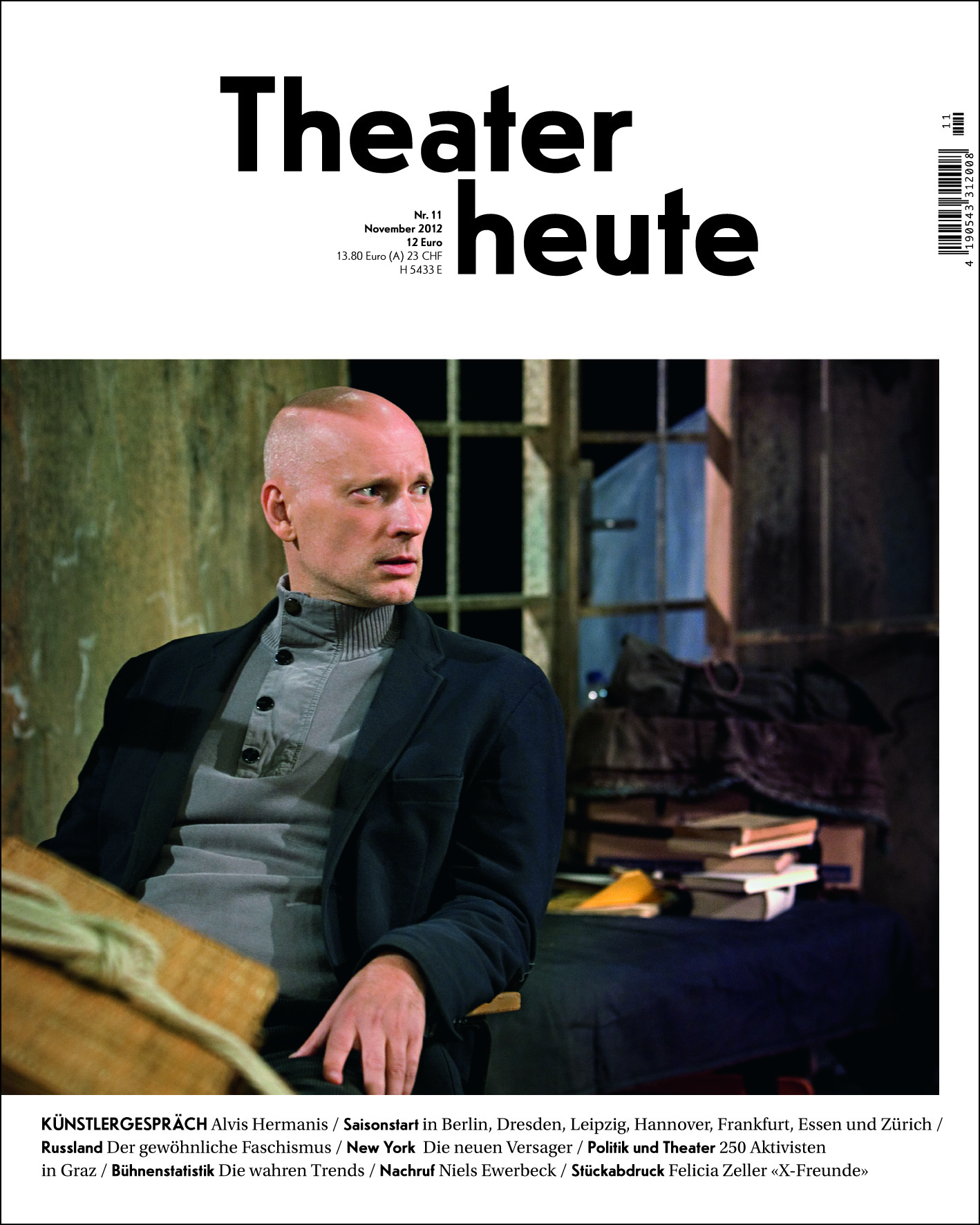 Theater heute November (11/2012)