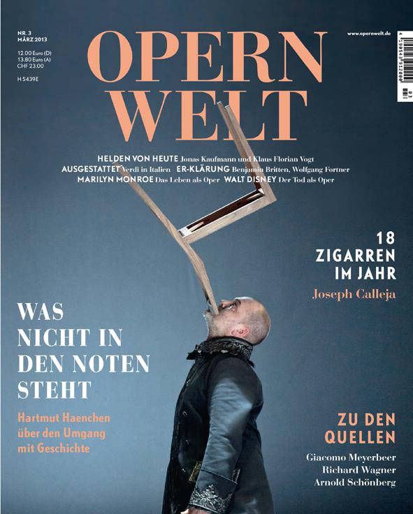 Opernwelt März (3/2013)