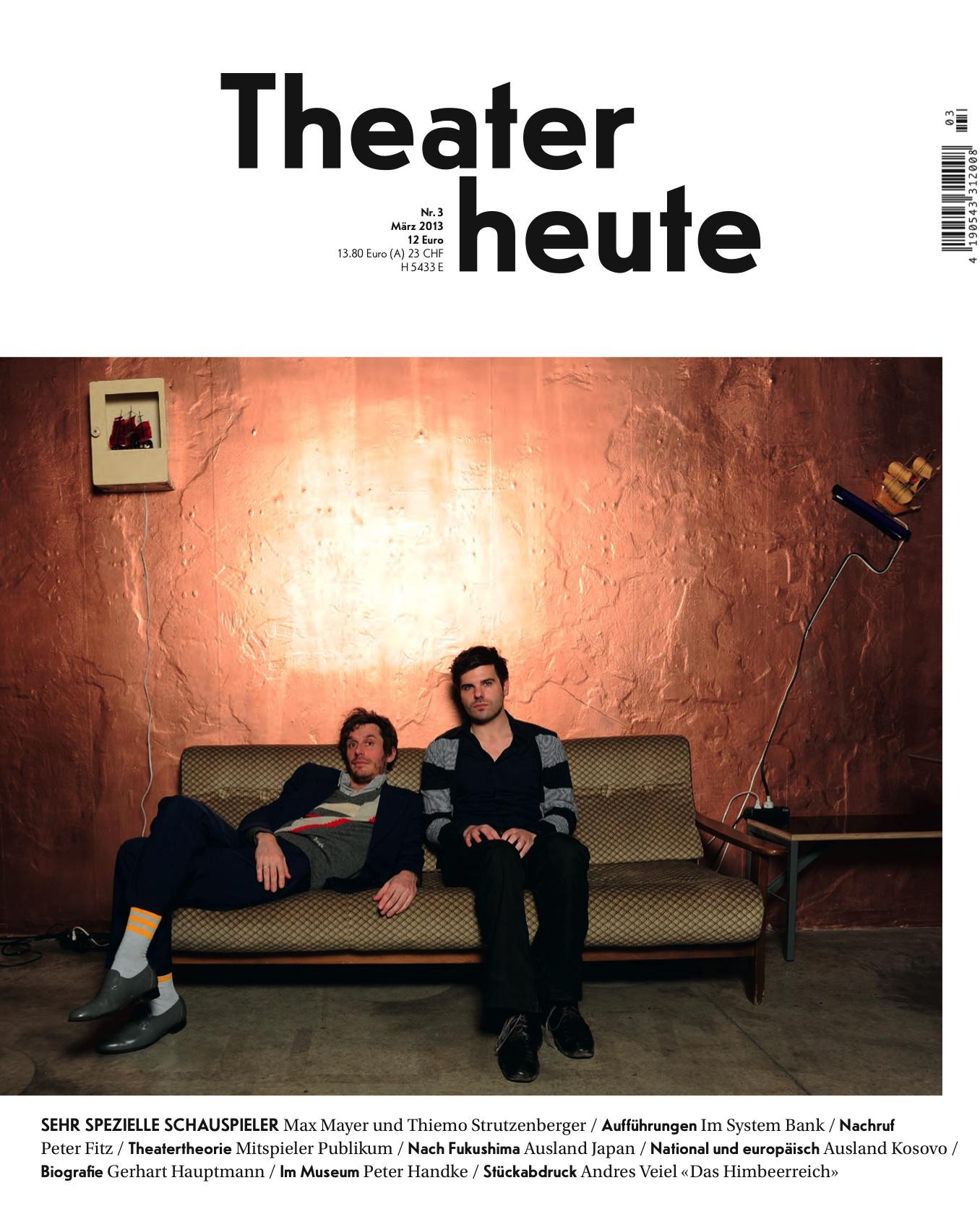 Theater heute März (3/2013)