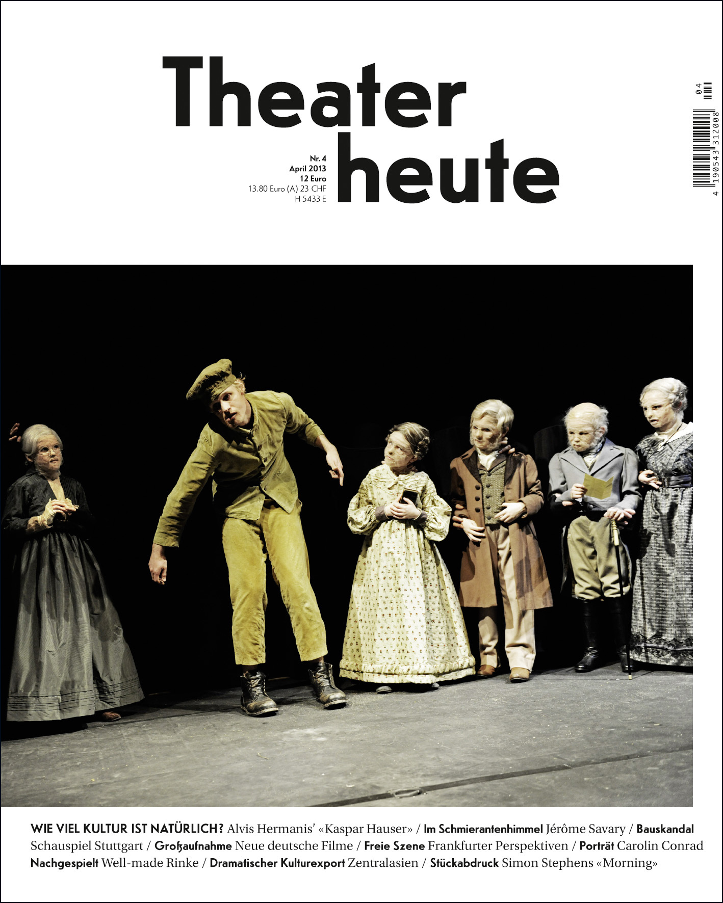 Theater heute April (4/2013)