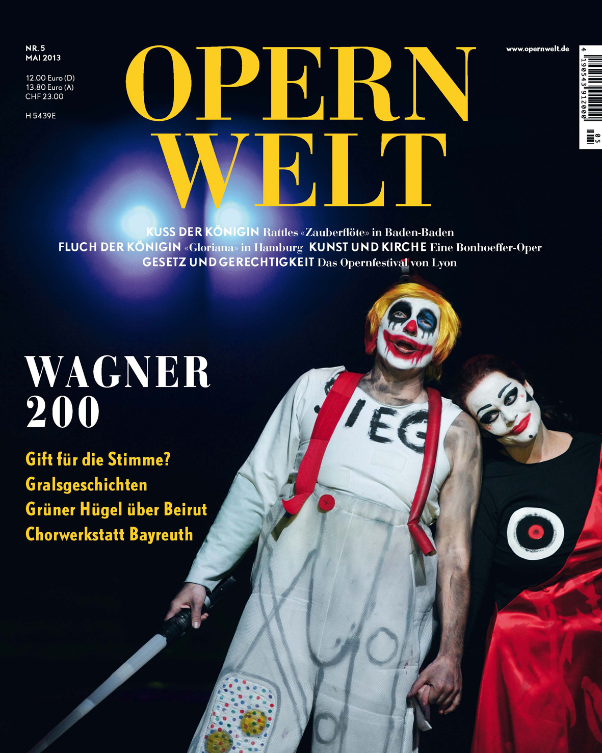 Opernwelt Mai (5/2013)