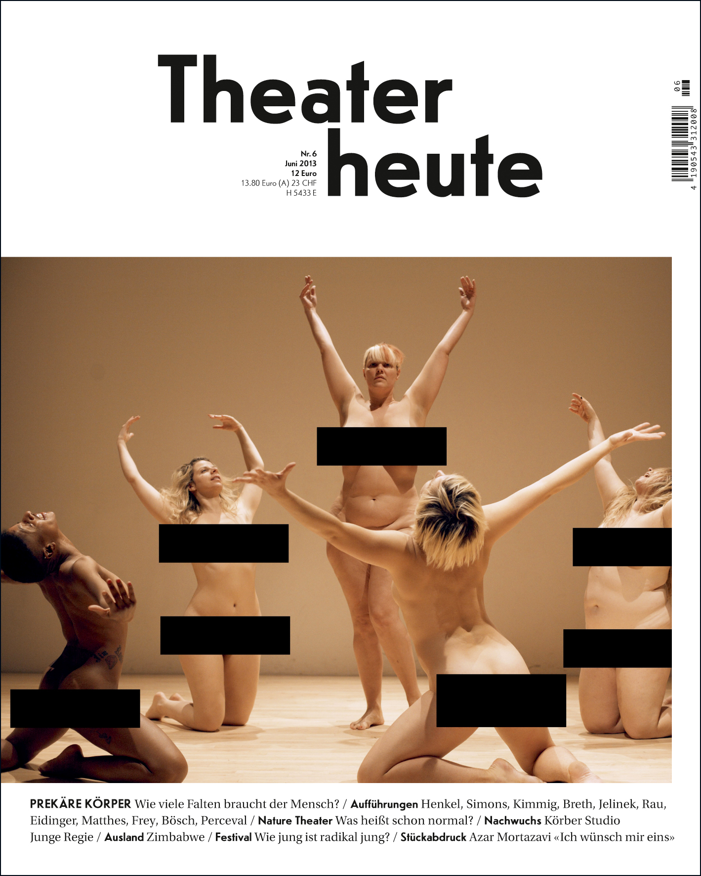 Theater heute Juni (6/2013)