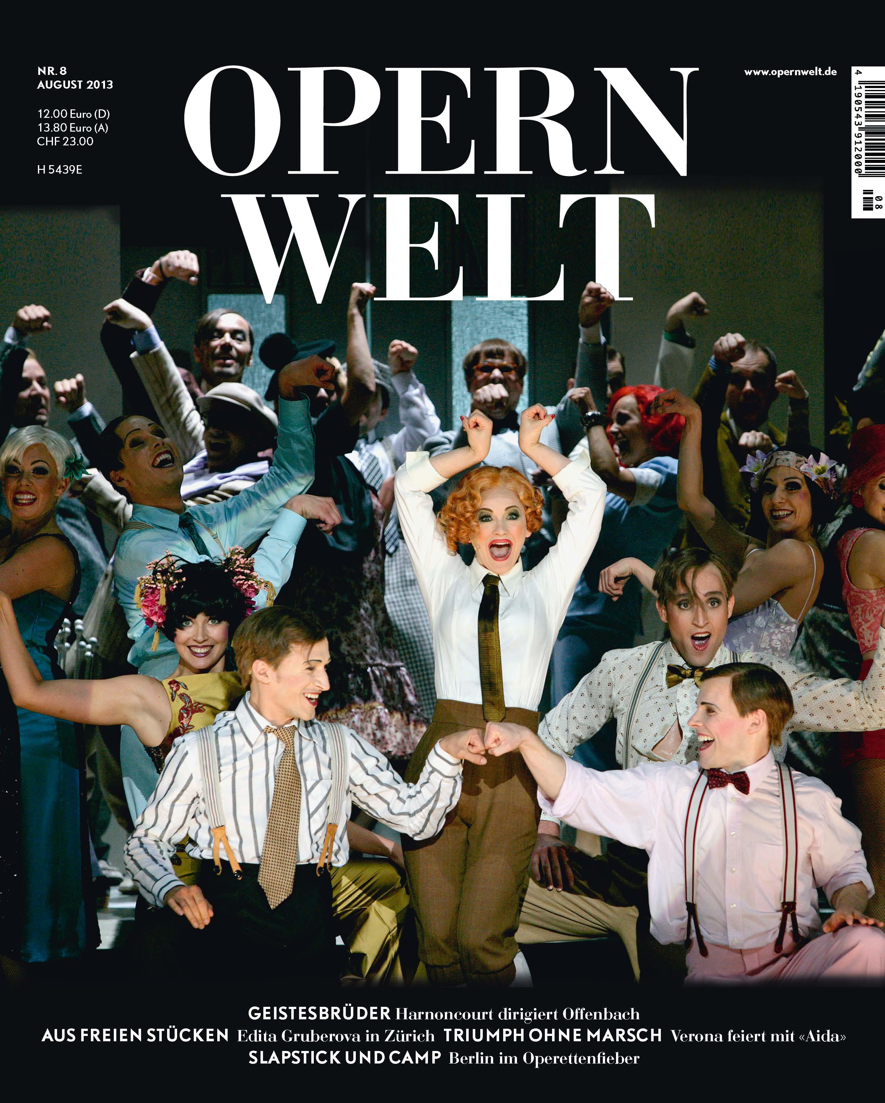 Opernwelt August (8/2013)