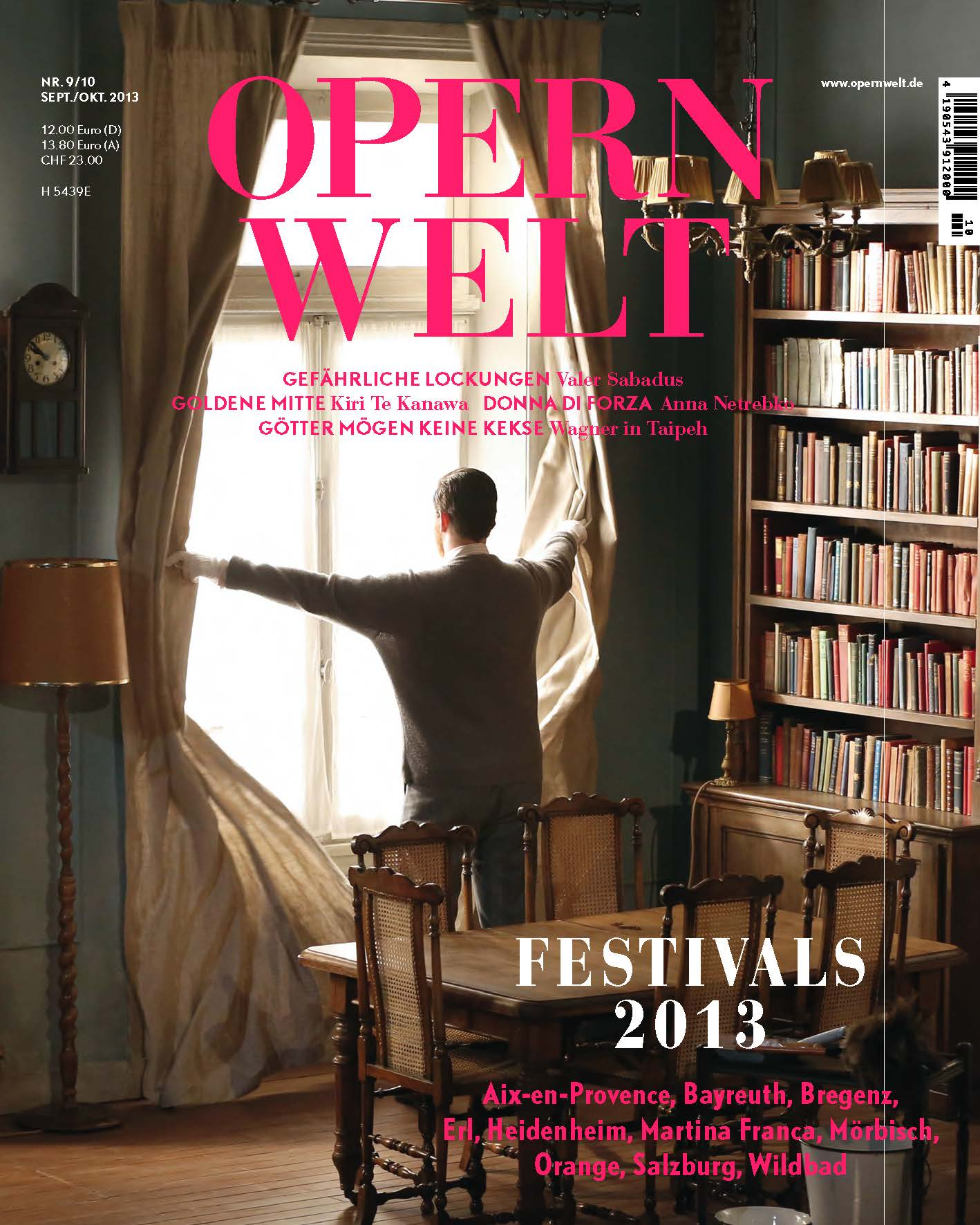 Opernwelt September/Oktober (9/10/2013)