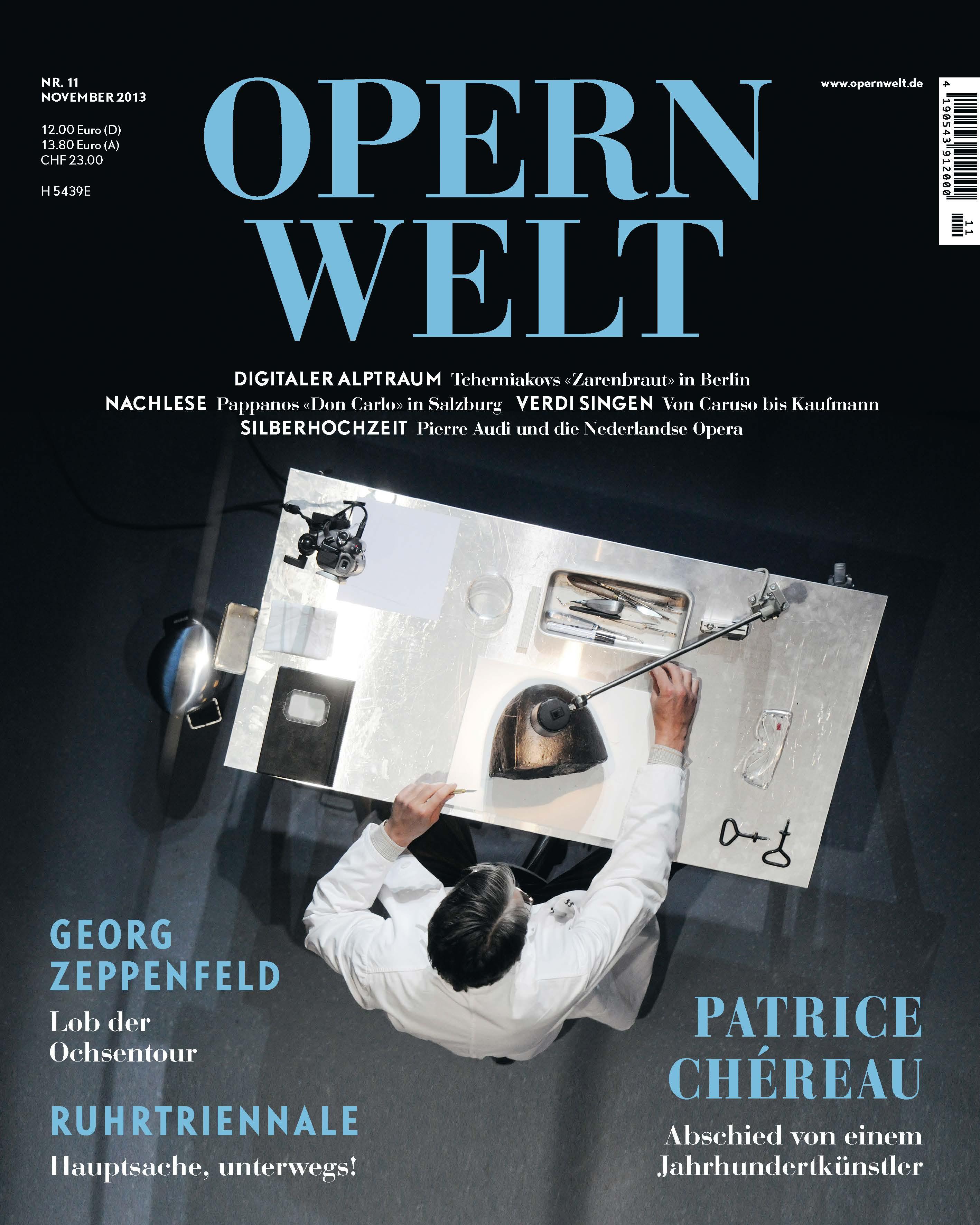 Opernwelt November 2013 (11/2013)