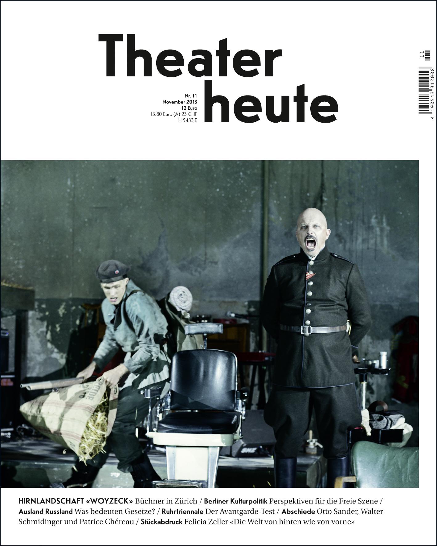 Theater heute November (11/2013)