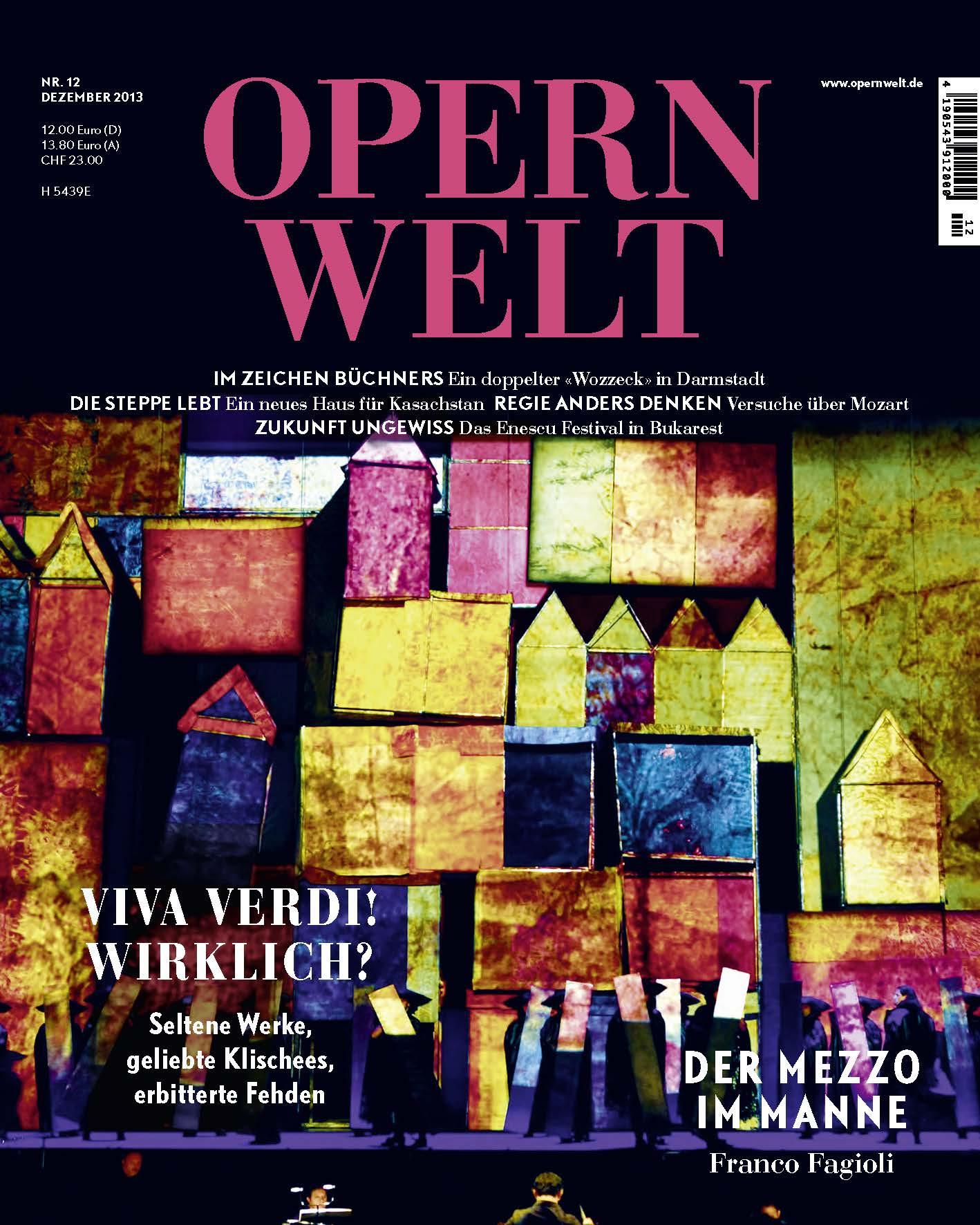 Opernwelt Dezember (12/2013)