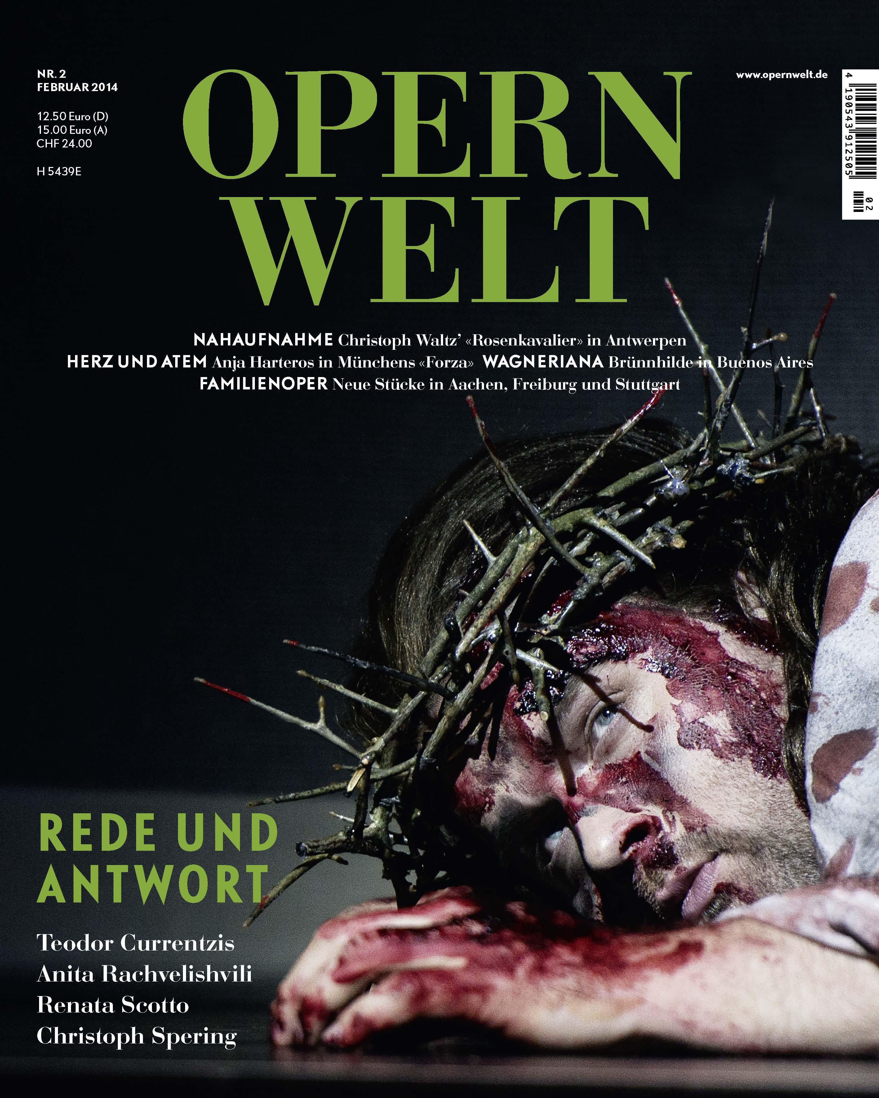 Opernwelt Februar (2/2014)
