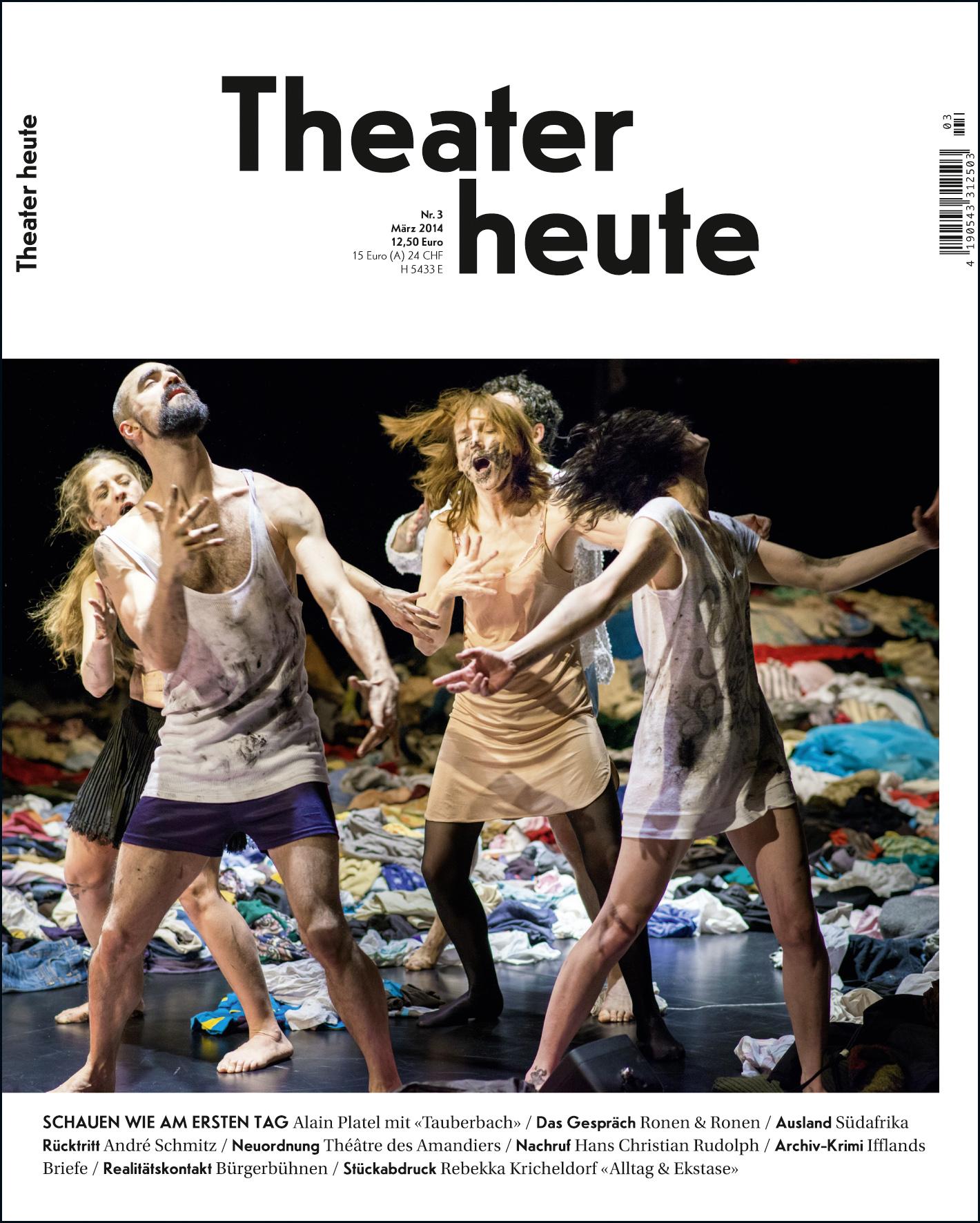 Theater heute März (3/2014)