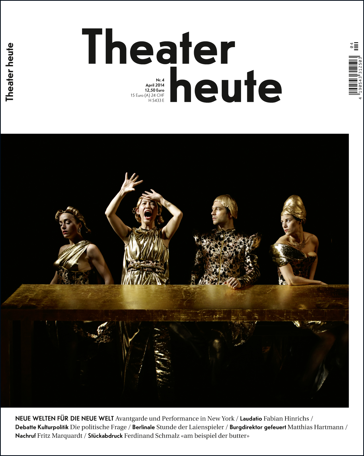 Theater heute April (4/2014)