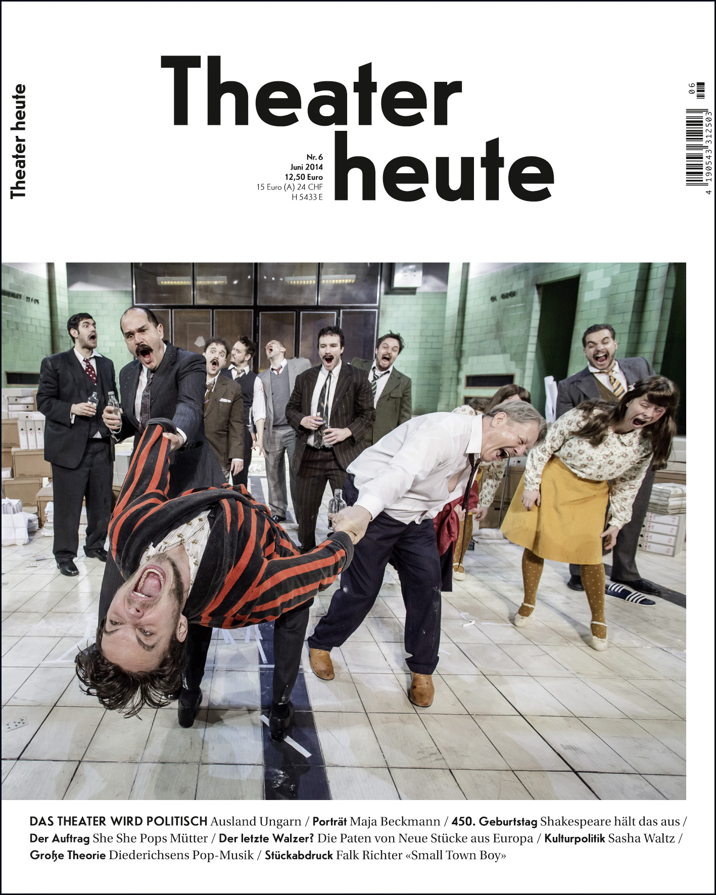 Theater heute Juni (6/2014)