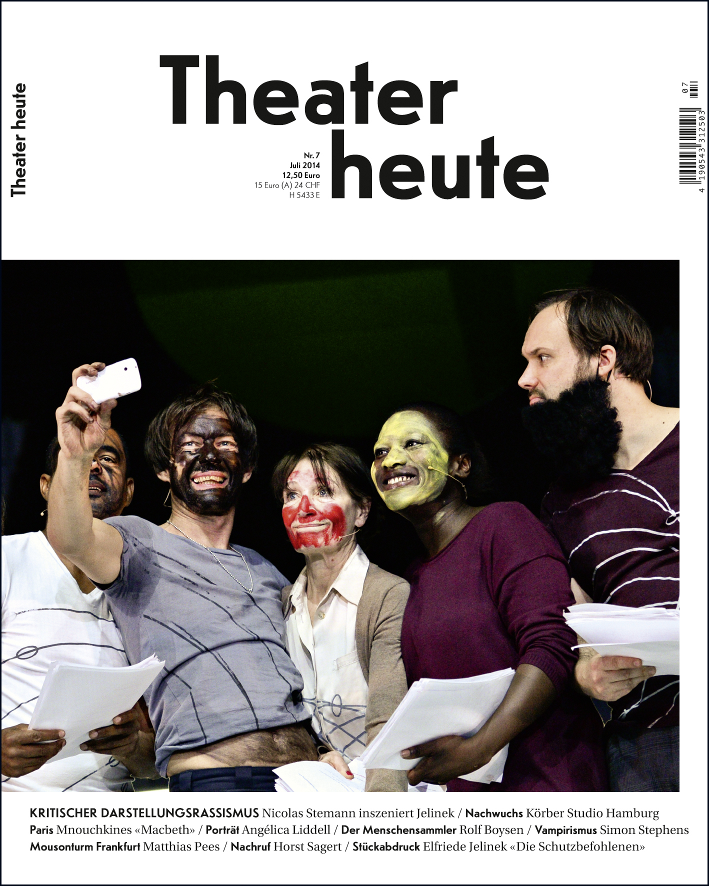 Theater heute Juli (7/2014)